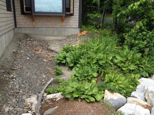 Helen's Garden Before